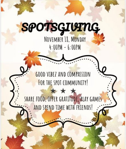 Spotsgiving