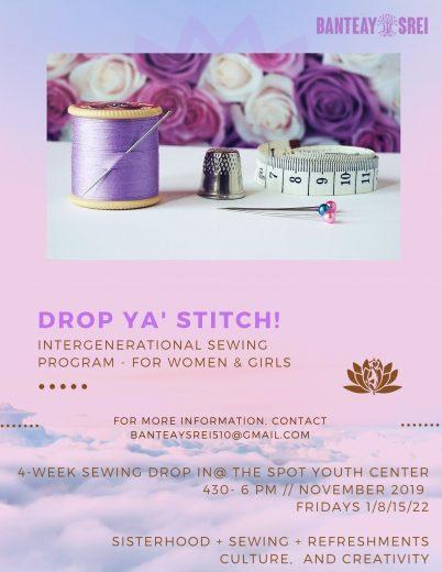 Drop Ya' Stitch