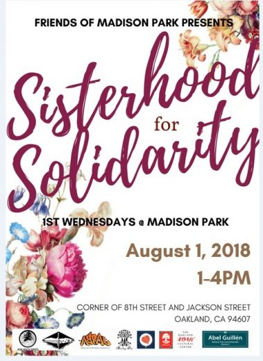 Girls take over the monthly Madison Pk Event