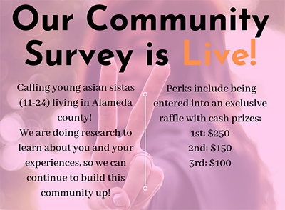 Our Community Survey is Live